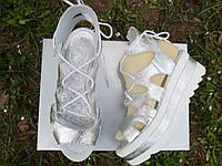 Модные женские босоножки кожаные 35 / 41 р