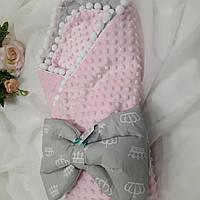 Конверт-плед для новорожденных, фото 1