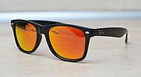 Солнцезащитные очки Ray Ban Wayfarer Polarized поляризованные 2140 C14 55-20-142