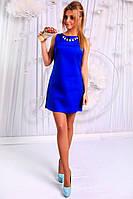 Короткое платье из коттона