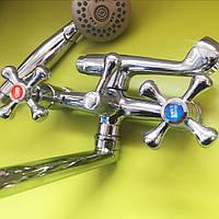 Ремонт двухвентильного смесителя в ванной своими руками