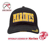 Бейсболка W/GOLD MARINES  ROTHCO