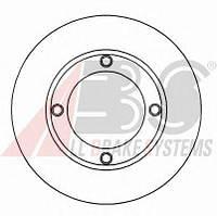 Диск тормозной ВАЗ 2101 передний (пр-во ABS)