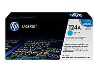Заправка картриджа HP 124A cyan Q6001A для принтера CLJ 1600, 2600n, CM1015, CM1017 в Киеве
