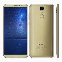 """Смартфон Cubot X18 3/32Gb Gold, 13/8Мп, 5.7"""" IPS, 2 sim, 4G(LTE), 3200мАh, GPS, MT6737T, 4 ядра, фото 1"""