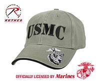 Бейсболка VINTAGE OLIVE DRAB USMC  ( ROTHCO) USA