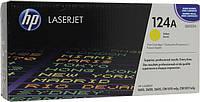 Заправка картриджа HP 124A yellow Q6002A для принтера CLJ 1600, 2600n, CM1015, CM1017 в Киеве