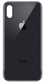 Задняя крышка Apple iPhone X черная