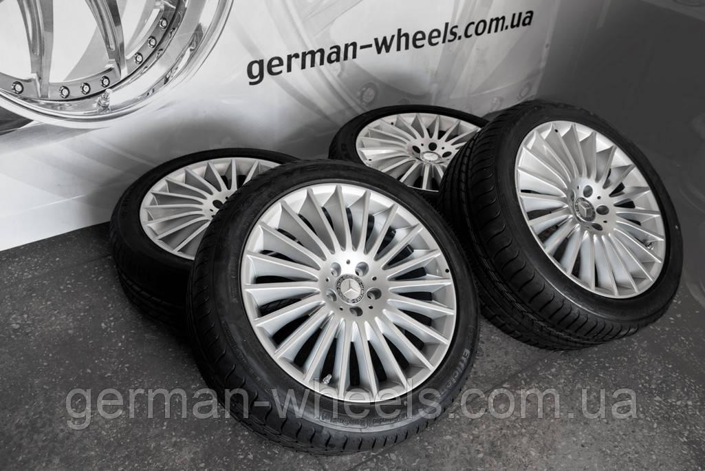 Оригинальные разноширокие диски 19''  Mercedes Benz S-Class