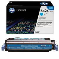 Заправка картриджа HP 642A cyan CB401A для принтера LJ CP4005dn в Киеве