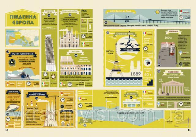 Дива архітектури. Атлас. Серія «Крутезна інфографіка»