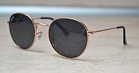 Солнцезащитные очки Ray Ban Round 3448P 50-21-135 001/2M черные