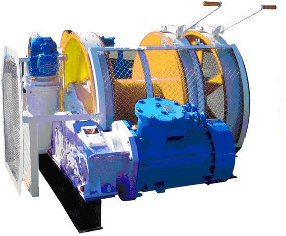 Лебедка шахтная ЛВ-45 купить
