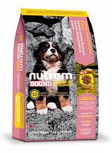 Корм NUTRAM (Нутарм) Sound Balanced Wellness Large Breed Puppy холистик для щенков крупных пород, 13,6 кг