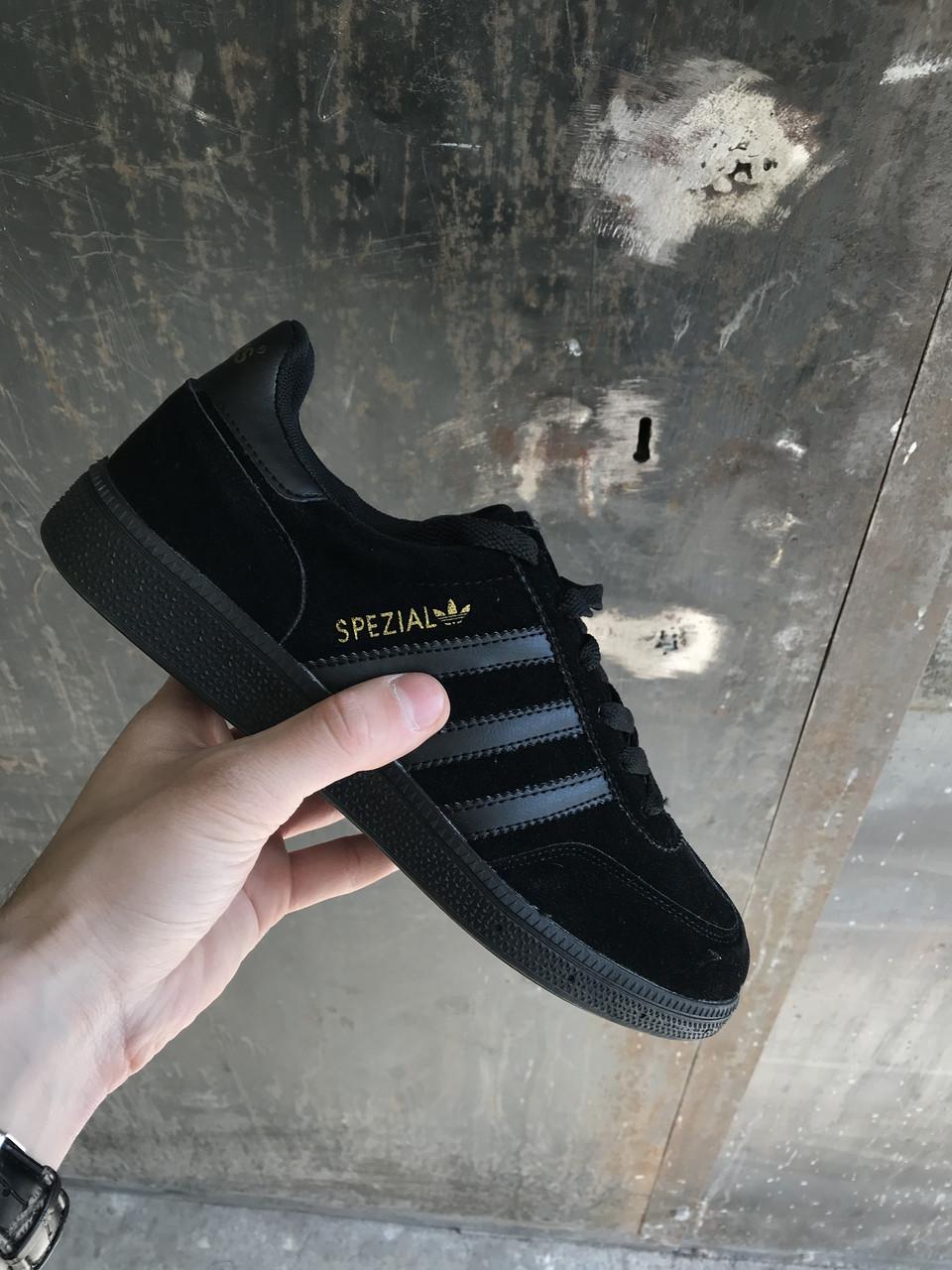 Кроссовки Adidas Spezial.Black (Адидас Специал/Спешл)