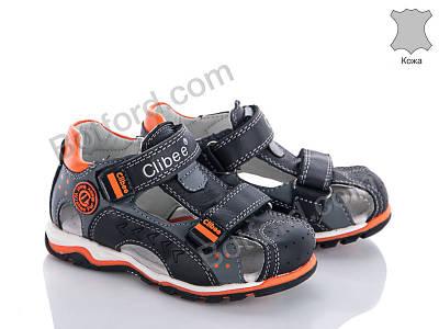 Сандалии Clibee F200 black-orange черный