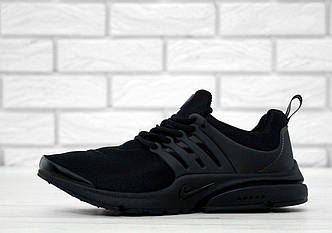 Кроссовки мужские Nike Air Presto Fleece Black, найк аир престо