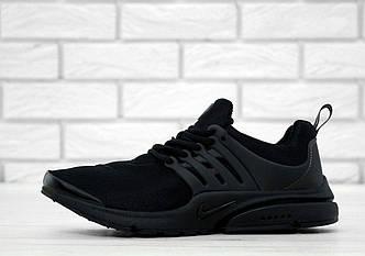 Кроссовки мужские Nike Air Presto Fleece Black, найк аир престо, реплика