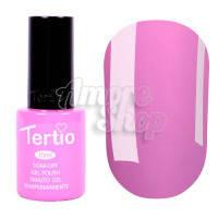 Гель-лак Tertio №025 (темно-лиловый, эмаль), 10 мл