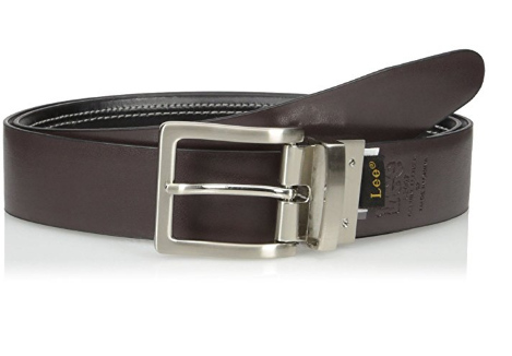 Ремень Lee Reversible Dress Belt with Stitch Detail - Brown/Black