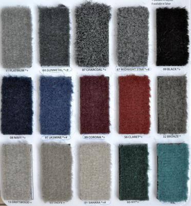 Стриженный ковролин плотность 16 oz Sparta Charcoal 1 м.п., фото 2
