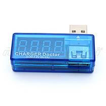 USB тестер напряжения и тока (вольтметр, амперметр), угловой, фото 2