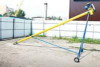 Транспортер шнековый (погрузчик, конвейер) Ø108*6000*380В, фото 1