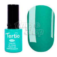 Гель-лак Tertio №027 (темный зеленый чай, эмаль), 10 мл