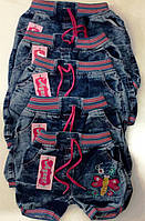"""Джинсовые шорты """"Стрекоза"""" на 2-6 лет, в рост. 5 шт."""