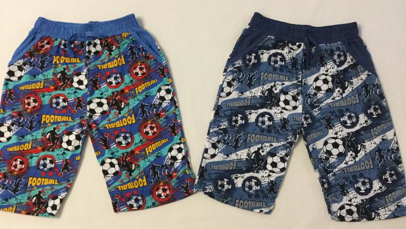 Бриджи с карманами Футбол 9-12 лет