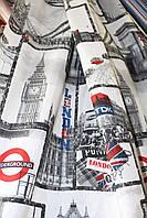 Ткань для штор города London