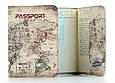 Кожаная обложка на паспорт путешественника, фото 2
