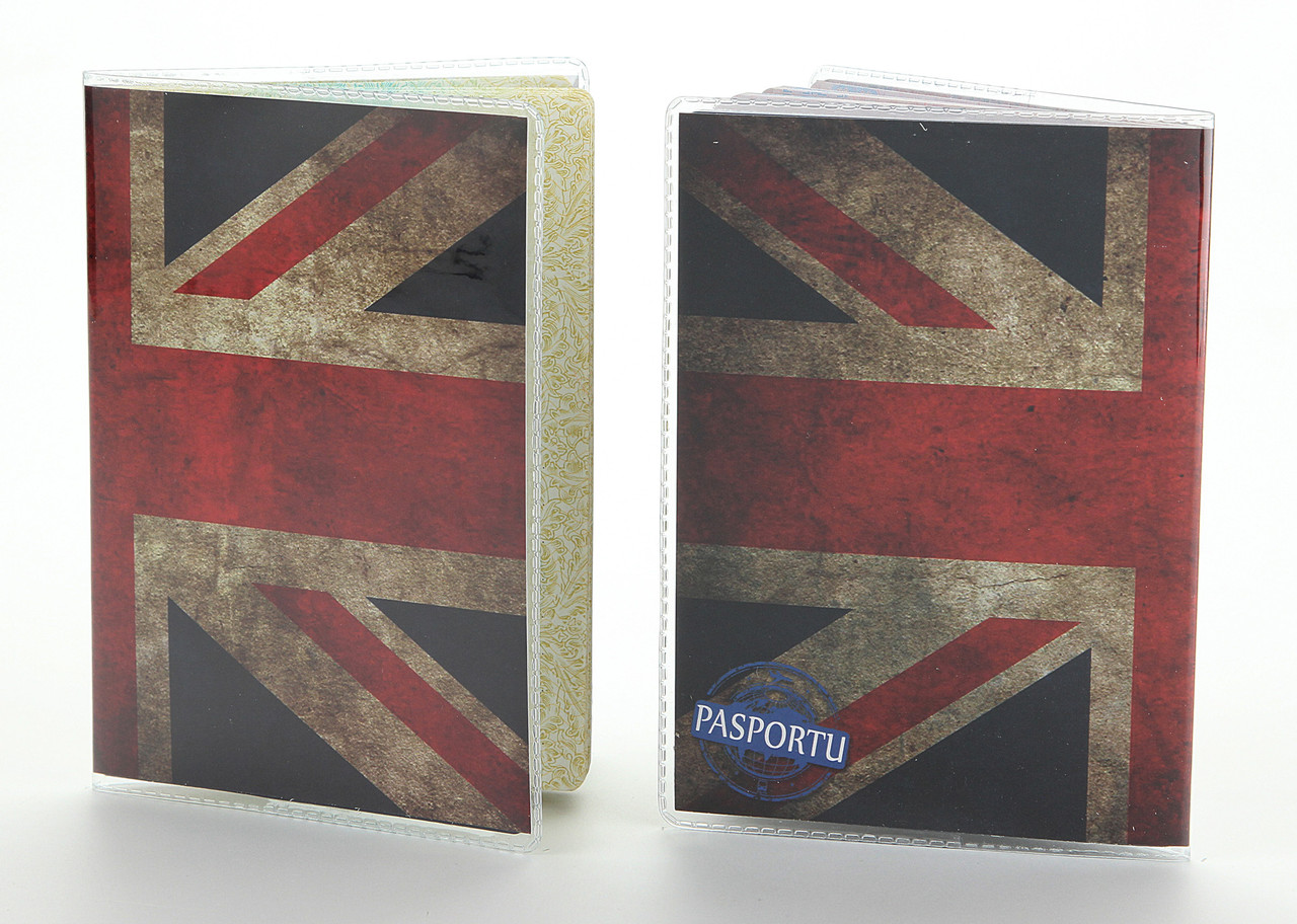 Обложка виниловая на паспорт Великобритания