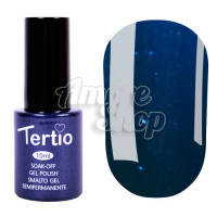 Гель-лак Tertio №030 (ультрамариновый, микроблеск), 10 мл