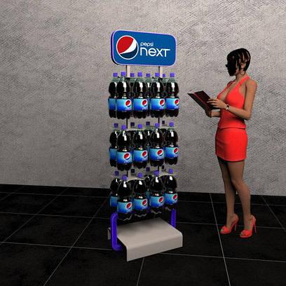 Стойки торговое оборудование для пластиковых бутылок