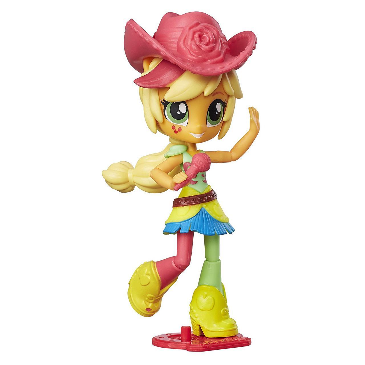My Little Pony Эпплджек мини девочки ЭквестрииРадужный рок Equestria Girls Minis RockinApplejack