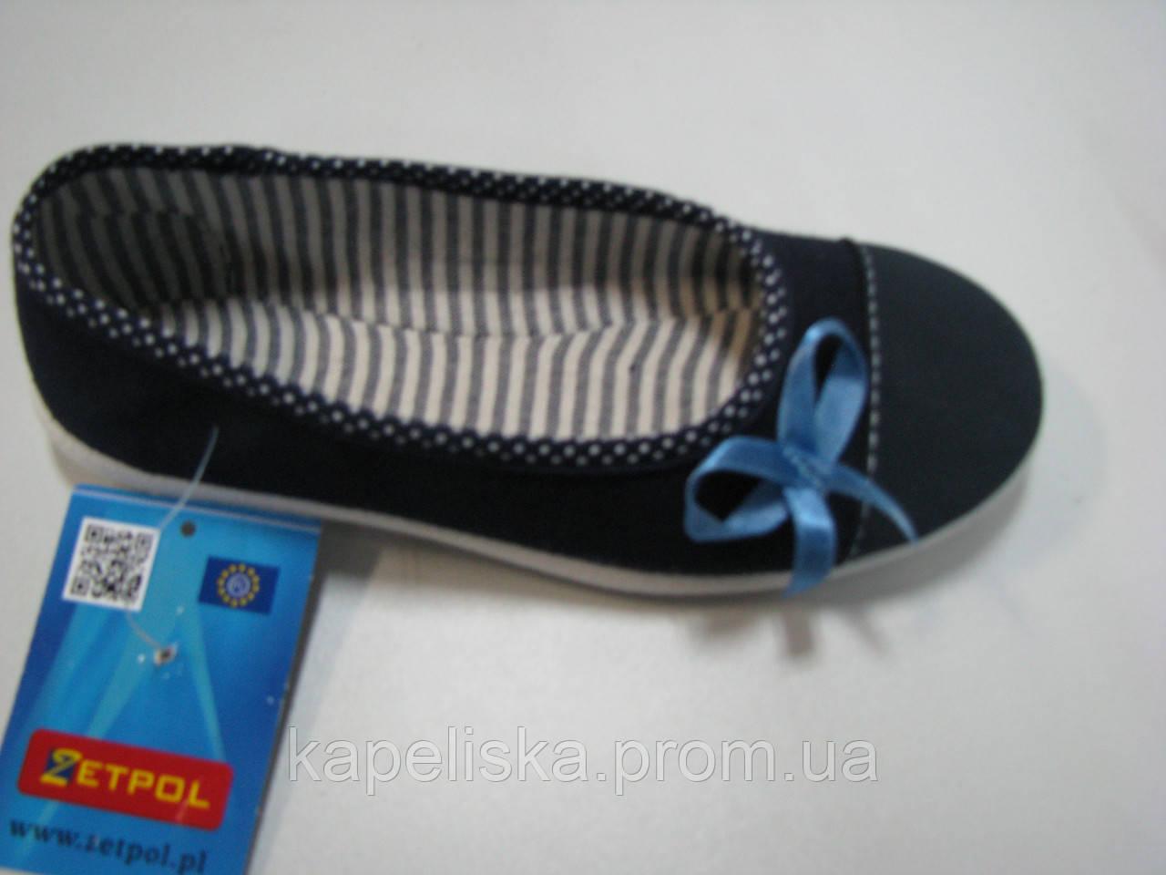 Zetpol зетпол тапочки для девочки, туфлі для дівчинки, лодочки