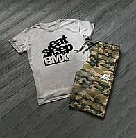 Летний спортивный костюм Eat Sleep BMX, фото 1