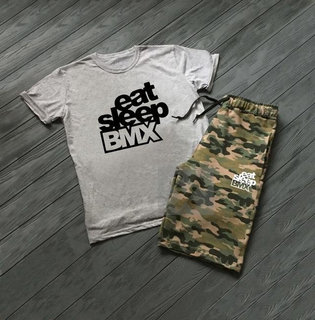 Летний спортивный костюм Eat Sleep BMX
