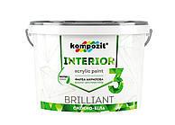Краска интерьерная Kompozit Interior 3 7 кг