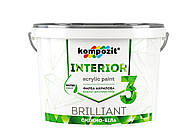 Краска интерьерная Kompozit Interior 3 14 кг