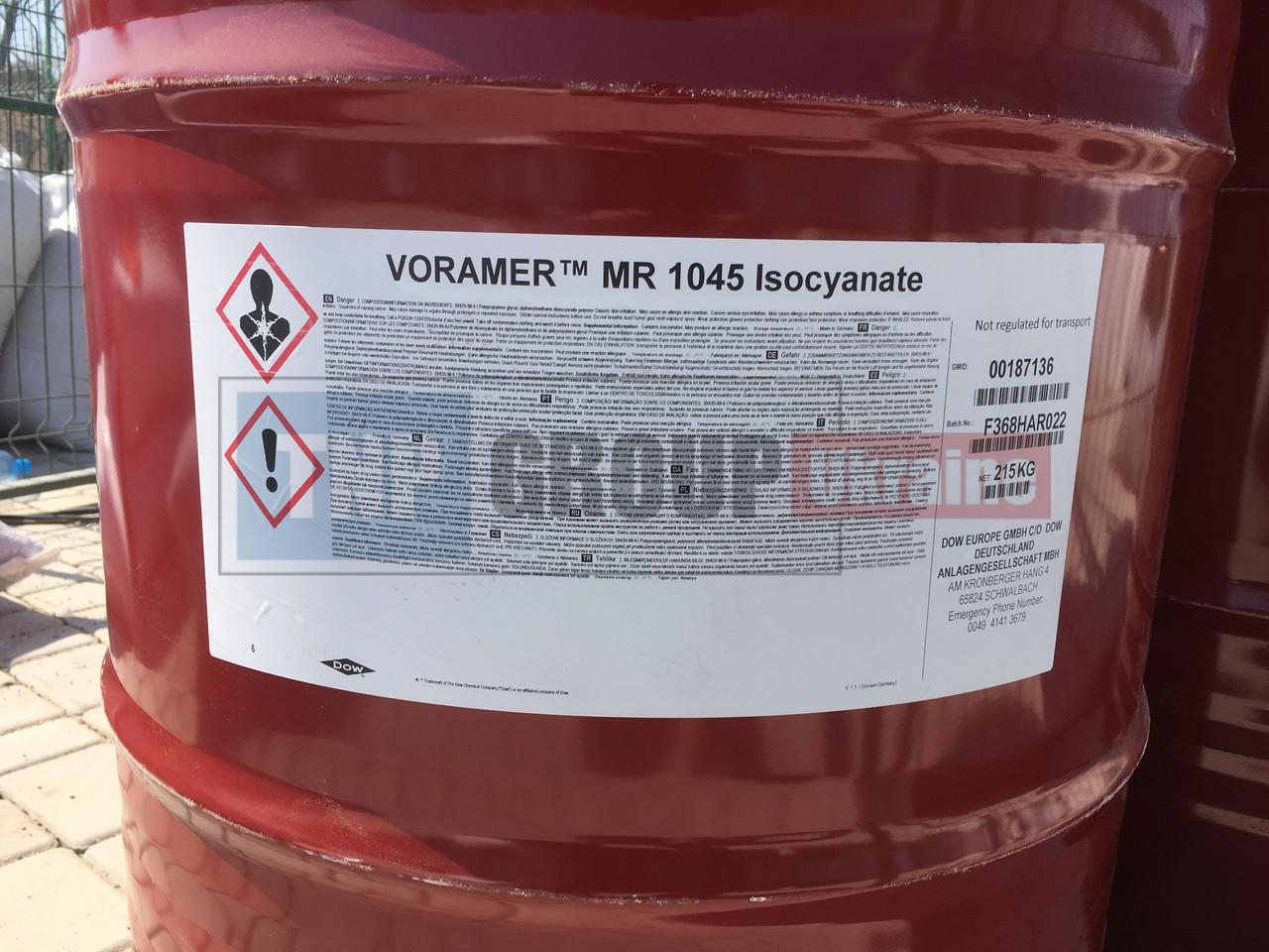 Полиуретановое связующее Voramer MR1045 медленное
