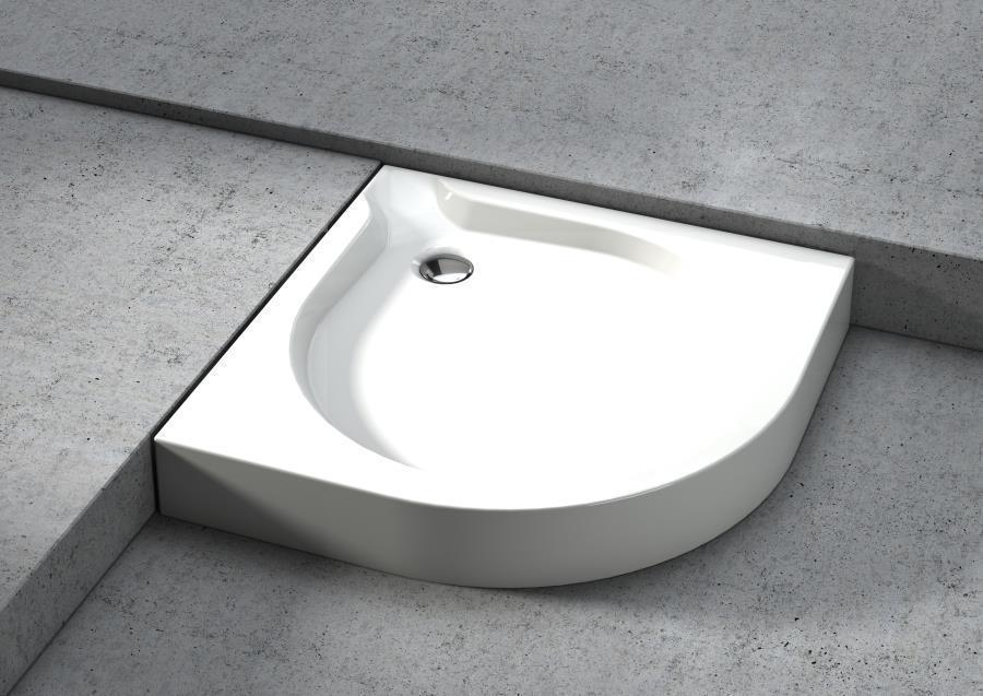 Aquaform  DELTA: Ножки для поддона полукруглого