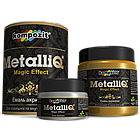 Kompozit емаль акрилова METALLIQ 0,1 кг чорна перлина