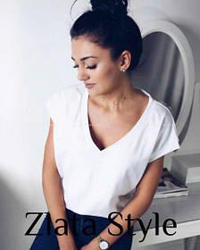 "Женская футболка ""Zlata"" - оверсайз"