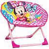 Детское раскладное кресло для отдыха Луна Минни Маус Minnie (50х50х50 см) ТМ ARDITEX WD12020 Розовый