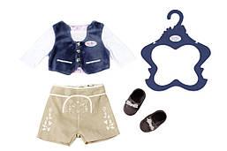 Одежда для кукол Беби Борн Baby Born костюм для мальчика Баварский Новинка 2018 Zapf Creation 824511