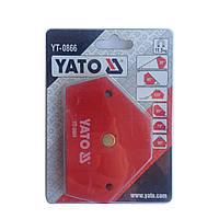 Магнитная сварочная струбцина YATO YT-0866