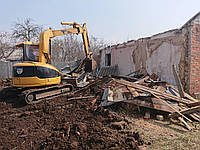 Демонтаж, разборка старых домов, снос дач, уборка территорий