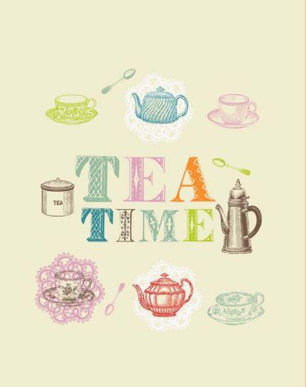 Полотенце вафельное Время чая